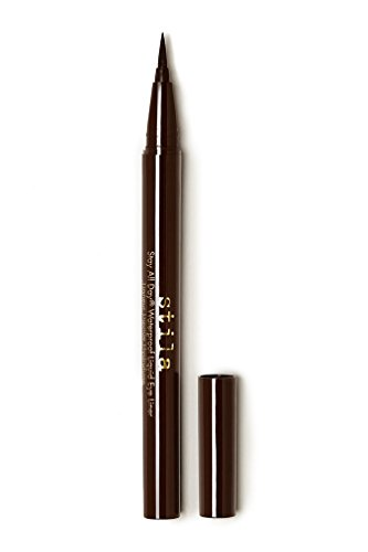 stila Stay All Day Waterproof Liquid Eye Liner, Dark Brown (Rich Chocolate)
