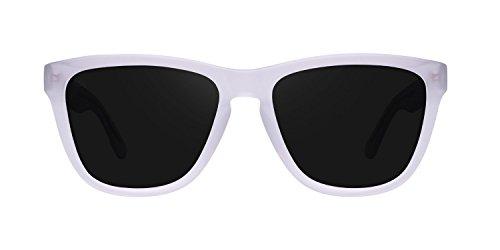 Unisex One de Matte Gafas Sol Blanco X Hawkers Dark Negro Air qwRPx4874