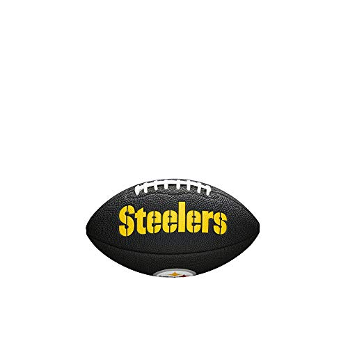 Pittsburgh Steelers Soft Football - NFL Team Logo Mini Football, Black - Pittsburgh Steelers