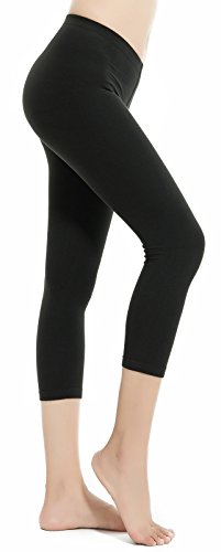 Aenlley Women's Spandex Capris Leggings – Ultra Soft Workout Legging