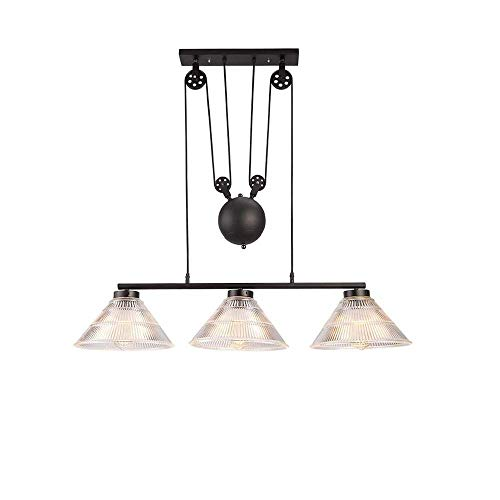Rise Fall Pendant Lighting Kitchen in US - 3