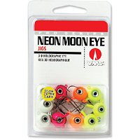 - VMC Neon Glow-in-The-Dark Moon Eye Jig Kit - 1/16 oz