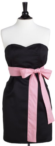 Jessie Steele Satin Strapless Apron, Black (Jessie Steele Salon Apron compare prices)