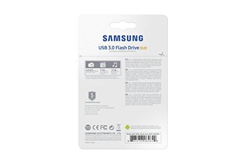 Samsung 32GB USB 3.0 Flash Drive Duo (MUF-32CB/AM) by Samsung (Image #6)
