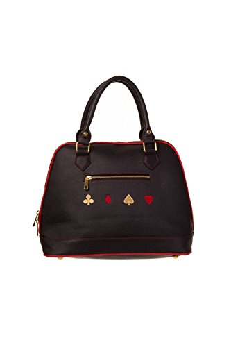 Banned Sugar Skull Spades Heart Diamonds Hearts Bowling Bag