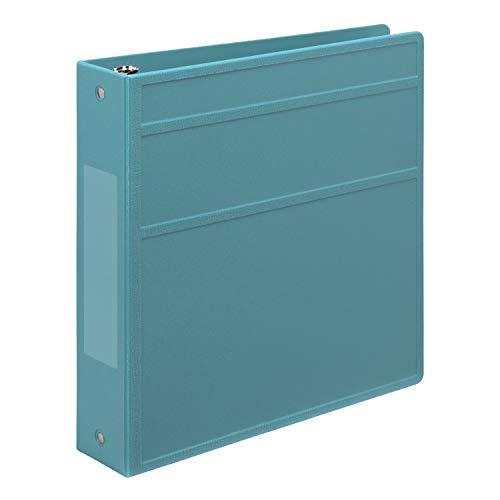 (Carstens 2- Inch Heavy Duty 3-Ring Binder - Side Opening, Powder Blue )