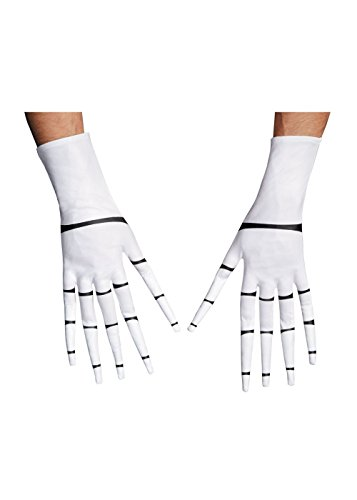 Disguise Costumes Jack Skellington Gloves, -