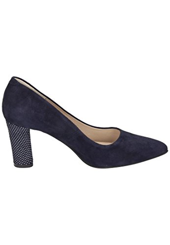 Piazza Damen 930511 Pumps Jeansblau