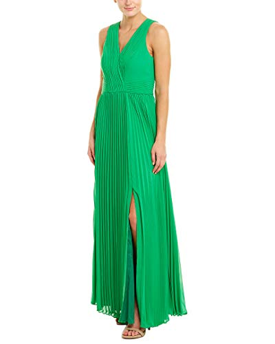 Kay Unger Womens Gown, 6, Green