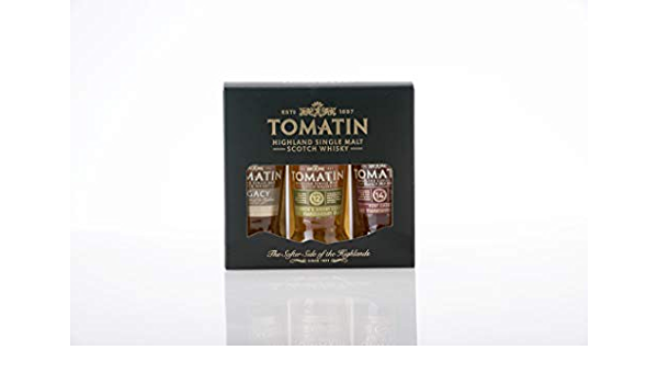 Tomatin Tomatin Coopers Choice Miniset 44% Vol. 3x0,05l ...