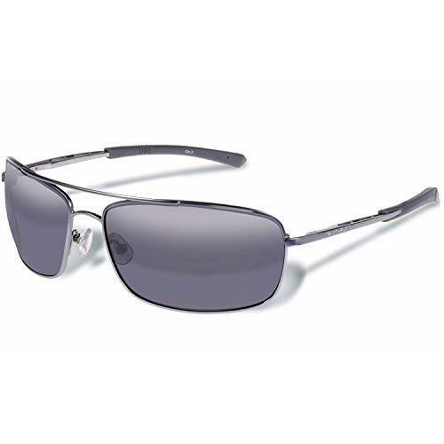 - Gargoyles Barricade Performance Sunglasses, Matte Gun Frame/Smoke Lens