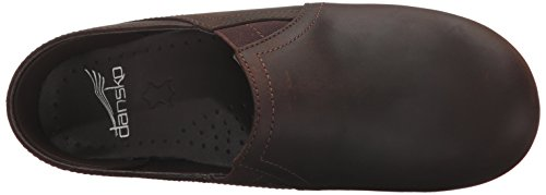 Dansko Womens Pepper Mule Antique Brown Oiled