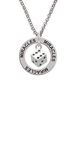 Dice - Miracles Affirmation Ring - Shop Miracle Las Vegas
