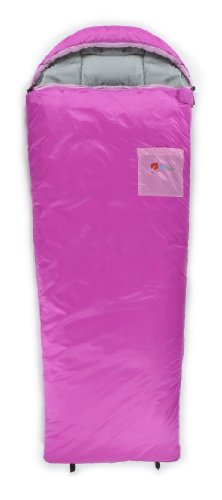 Chinook Kid s Hooded Tapered Synthetic 32-Degree Sleeping Bag
