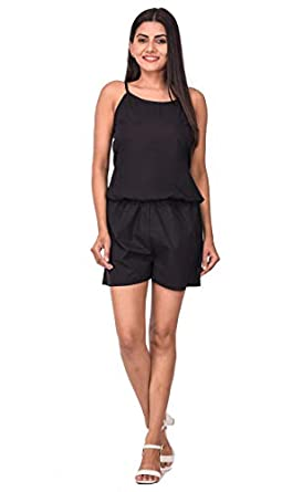 Camisole Top with Same Color Shorts for Girls and Women's Night Wear Sleep Wear Set