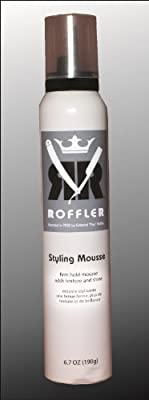 Roffler Styling Mousse, 6.7 Ounce