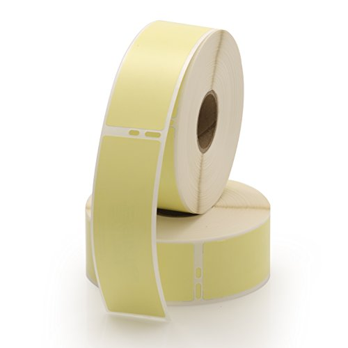 Dymo 30252 Compatible Address Labels 2 Yellow Rolls Per Pack