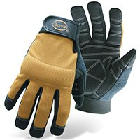BossCoProducts Glove Mechanic X-Tough Medium, Sold as 1 Pair