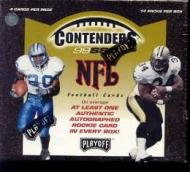 (1999 Playoff Contenders SSD Football Cards Unopened Hobby Box)