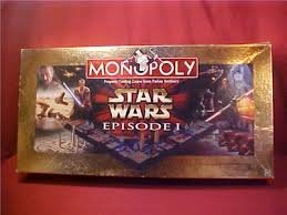 Monopoly Star Wars Episode I Board Game Made by Hasbro - Hasbro Star Wars Episode