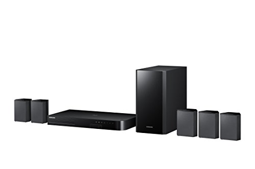 Best price for Samsung HT-J4500 5.1 Channel 500 Watt 3D Blu-Ray Home Theater System (2015 Model)