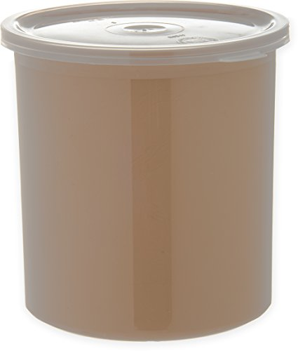 Carlisle 030106 Solid Color Commercial Round Storage with Li