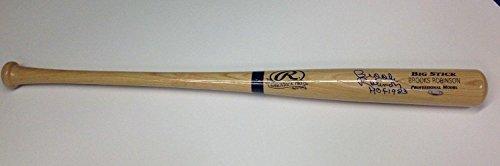 Signed Brooks Robinson Baseball Bat - Adirondack Pro Big Stick COA #7580561 - Tristar Productions (Brooks Robinson Bat)