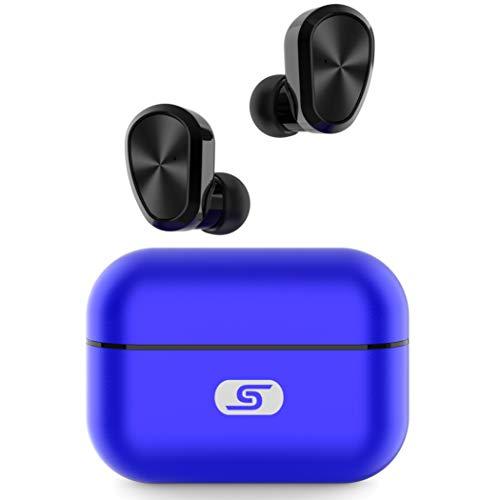 Auriculares Earbuds Inalambricos SZSAGO Waterproof IPX7 Blue