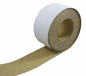 Sand Body Filler - ABN Adhesive Sticky Back 220-Grit Sandpaper Roll 2-3/4