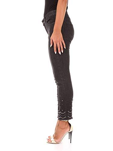 isotta Denim Pantalones Negro Ferrone Vaqueros Mujer C21 Sandro Ewqn4AgOU