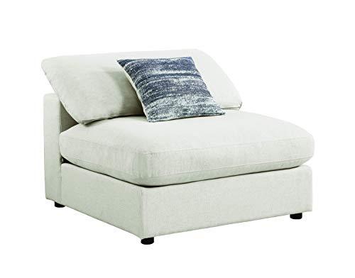 Coaster Home Furnishings Serene Upholstered Armless Chair - Armless Upholstered Chair Modular