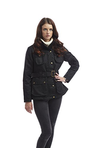 Womens Wax Denison Jacket Black-L (Jacket Denison)