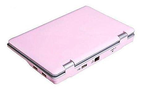 JCW Netbook - Ordenador portátil PC Ultraligera - Google Android 4.4 KitKat - WiFi - Ethernet - Webcam - 4 GB Disco Duro 512 RAM - Pantalla 7 Pulgadas ...