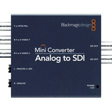 Blackmagic Design Blackmagic CONVMAAS2 Analog to 3G HD-SDI Mini Converter