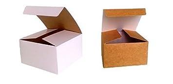 Paquete con 10 x montaje Caja de Regalo (Código # B) cartón plano paquete