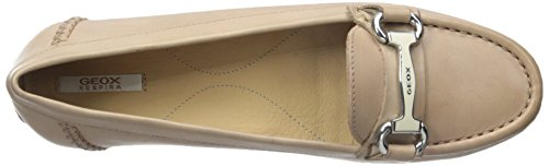 Geox Women's D Italy Penny Loafer Light Taupe wzRV6k