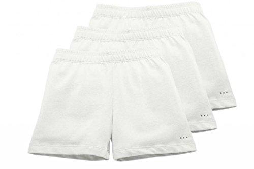 Sparkle Farms Big Girls Under Shorts Set Size 6 White