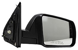 Heated Side Passenger Mirror - TYC 5330141 Toyota Tundra Passenger Side Power Heated Replacement Mirror