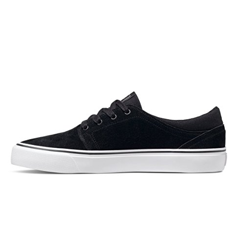 DC Shoes Men's Trase S Skate Low Top Shoes negro/blanco