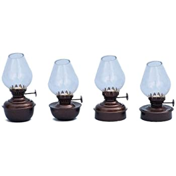 Amazon Com Hampton Nautical Antique Copper Table Oil Lamp