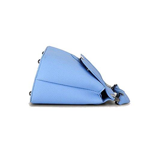Lado Magnética Sra Molla Ajlbt Blu Verano Laterale Tracolla Ajlbt Fibbia Bandolera Paquete Magnetico Primavera Pu Blue Pacchetto Hebilla Pelle Mrs Cuero Bolsa vwdwxpnrPq