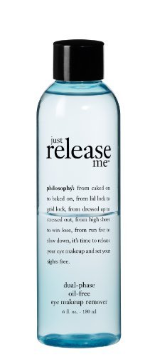 Just Release Me Dual Phase Oil Free Eye Makeup Remover 180ml/6oz by philosophy