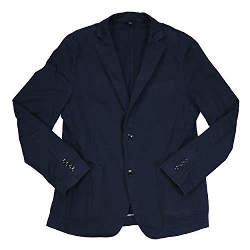 Hugo Boss Navy NIELLS1 Stretch Cotton Slim Birdseye Blazer Sportcoat 44R ()