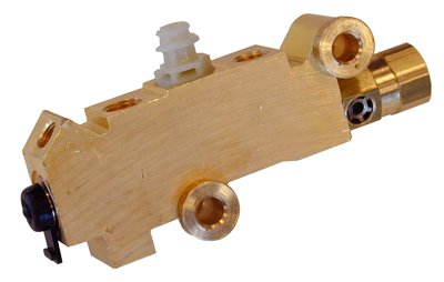 (E-2-7) Inline Tube 5 Port Brass Proportioning Valve for Front Disc Rear Drum Brakes Compatible with 1971-77 GM Style (See Description)