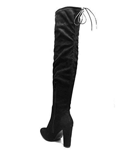 pour Femme Noir SheLikes SheLikes Bottes Bottes 4OqfnPft8