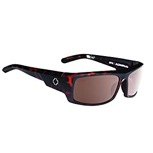 Spy Optic Admiral Wrap Sunglasses, 62 mm (Matte Camo Tortoise)