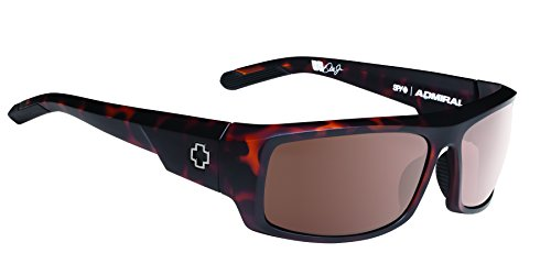 Spy Optic Admiral Wrap Sunglasses, 62 mm (Matte Camo - Amazon Spy Sunglasses