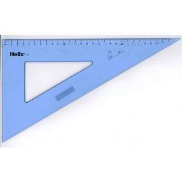 Helix 31cm 60 Degree Set Square (Box of 25)