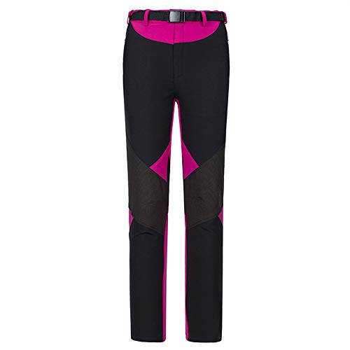 LY4U Womens Outdoor Hiking Walking Trousers Lightweight Quick Dry Breathable Hiking Pants