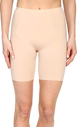 SPANX Women's Thinstincts Mid-Thigh Short, Soft Nude XS